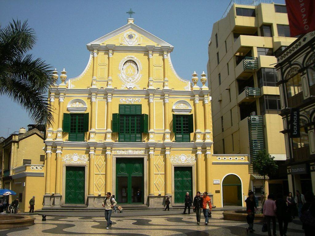 iglesia de santo domingo macao