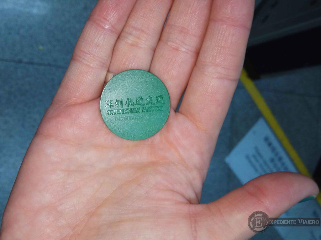 comprar billetes metro shenzhen china