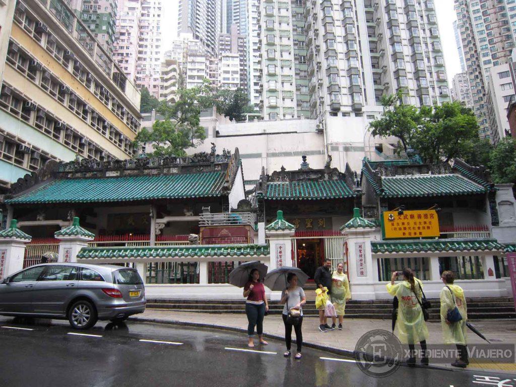 Templo de Man Mo en Hong Kong