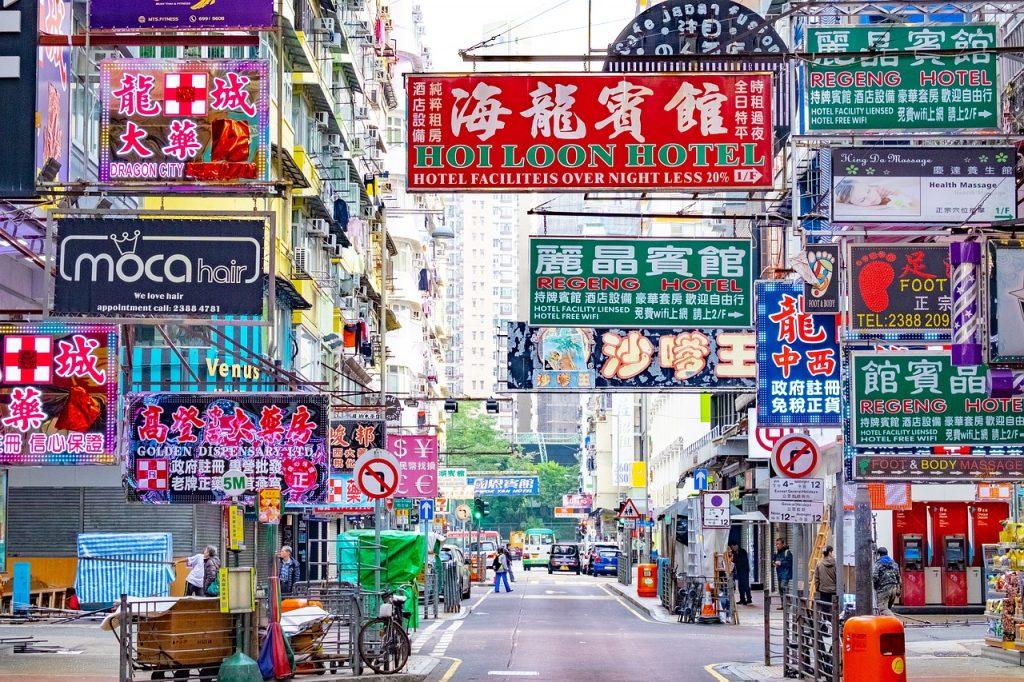 barrio de Mong Kok