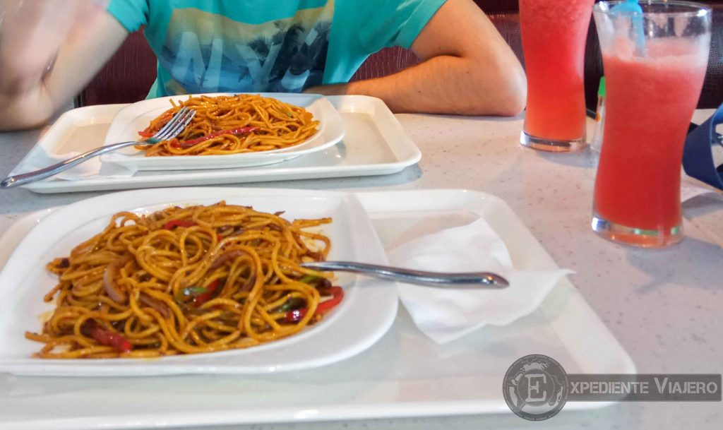 comer en aueropuerto hehua zhangjiajie