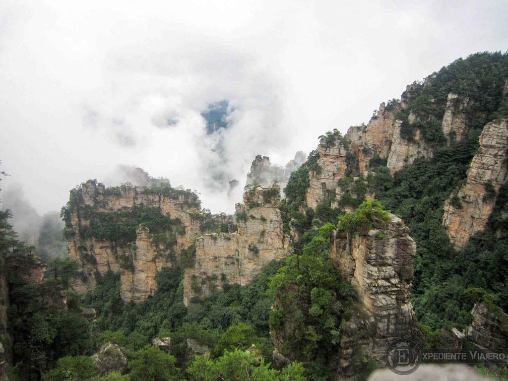 ver area de Yangjiajie Zhanjiajie