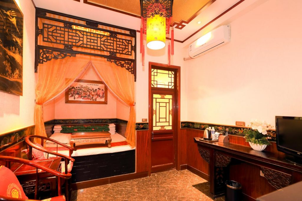 habitación cama tradicional Pingyao