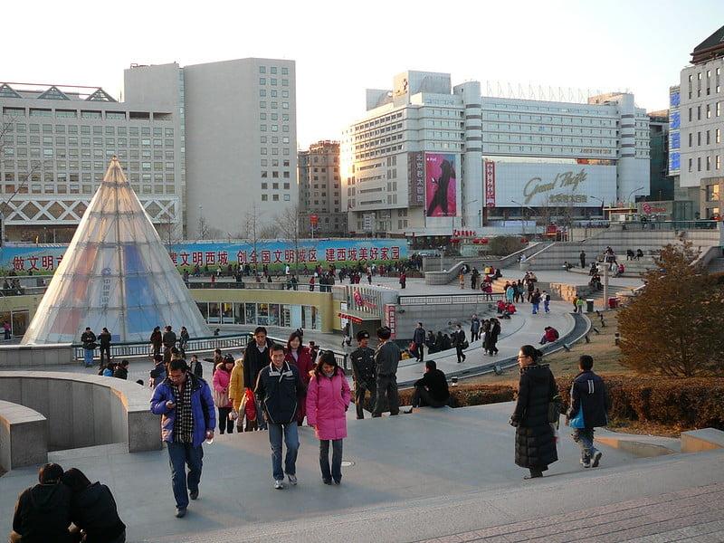 Alojarse en Xidan, Pekin