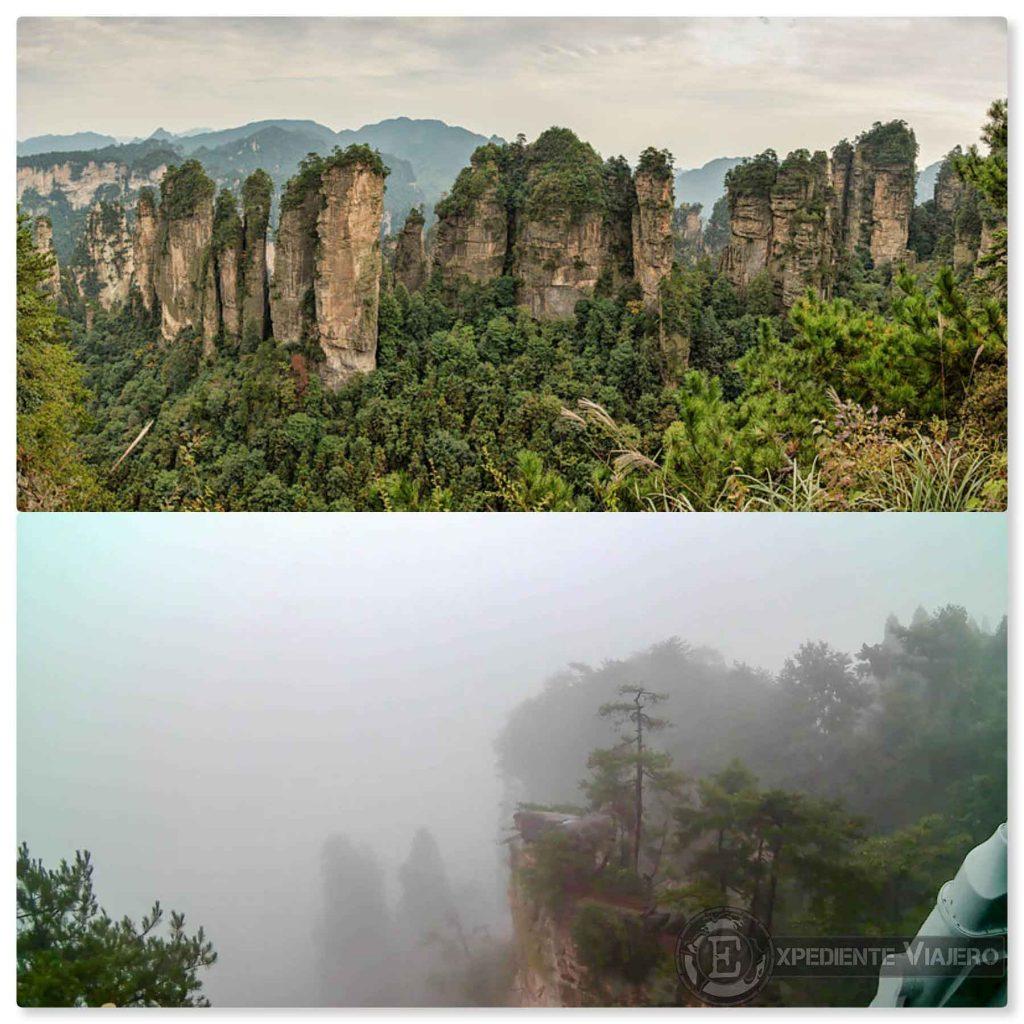 Huangshi village parque de avatar zhanjiajie