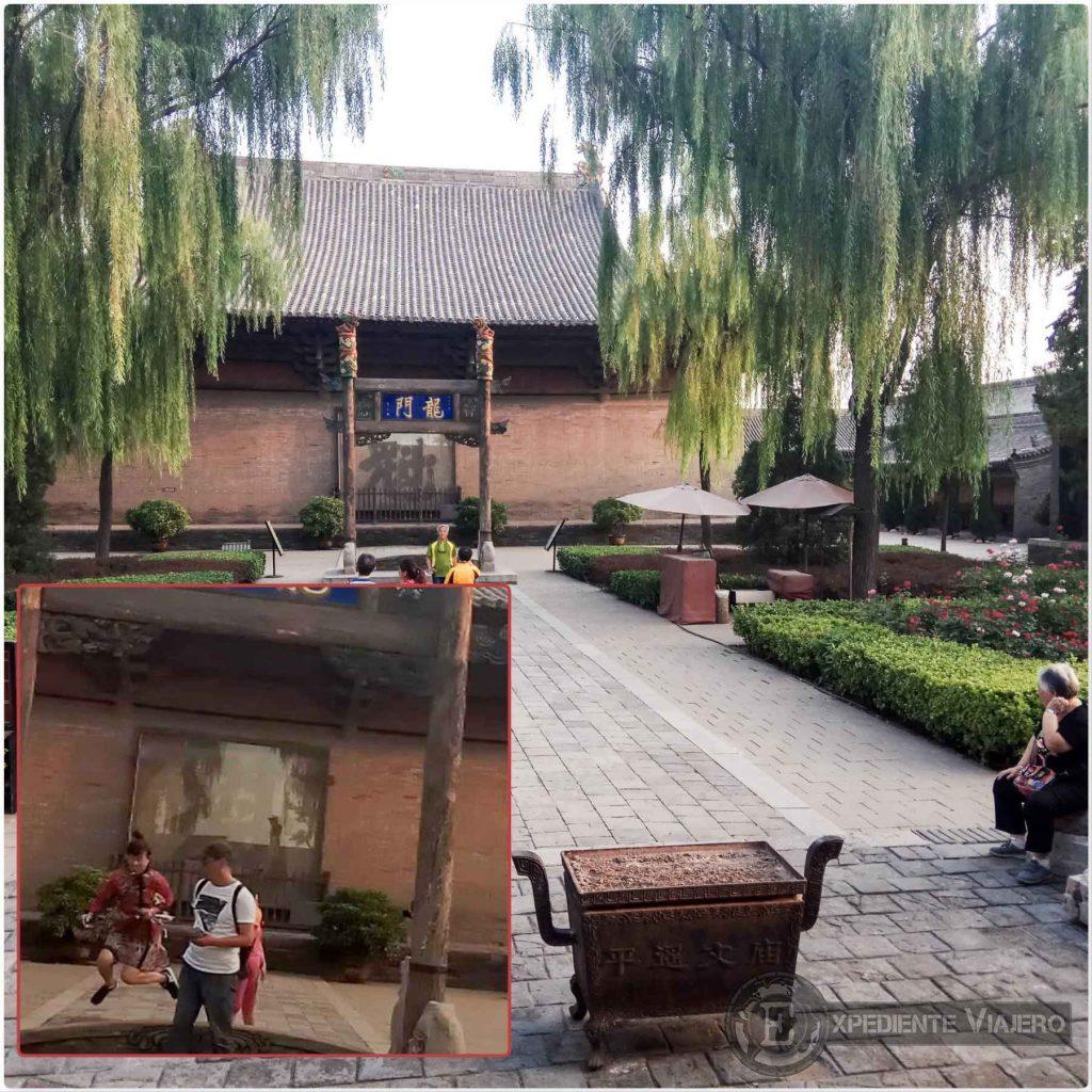 Ritual chino en el Templo de Confucio, Pingyao