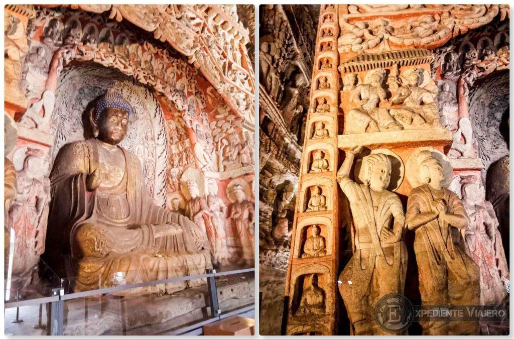 Figuras y Budas en Yungang