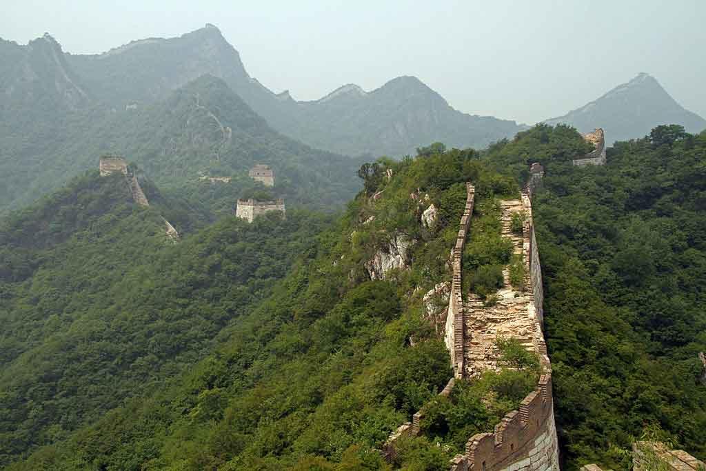 Visitar la Gran Muralla de Jiankou