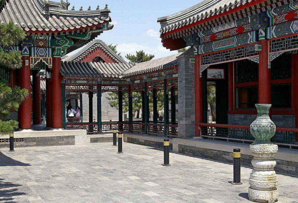 Galería Wenchang, Ciudad Prohibida, Pekin