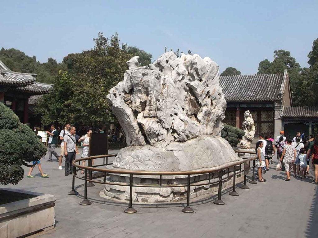 Palacio de la Alegría y la Longevidad, en el Palacio de Verano de Pekin