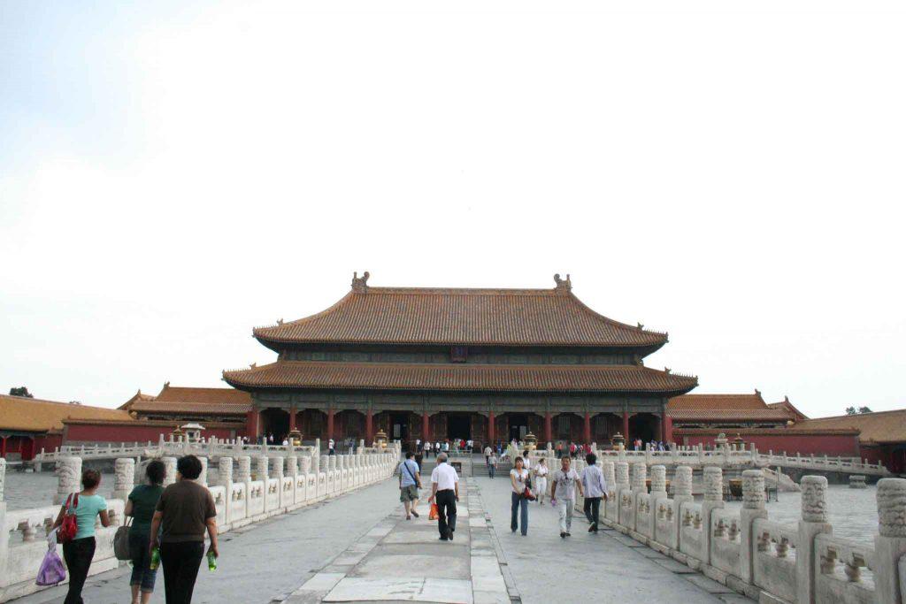 Palacio de la Pureza Celestial, Ciudad Prohibida de Pekin
