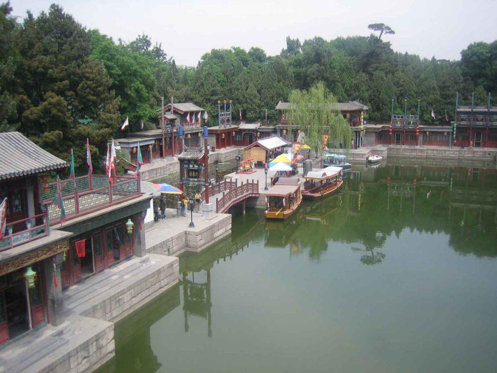 Calle Suzhou, Palacio de Verano en Pekin