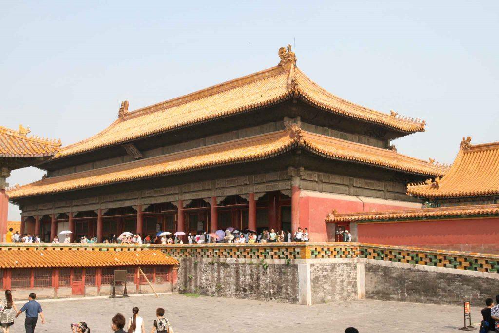 Palacio de la Tranquilidad Terrestre, Ciudad Prohibida de Pekin