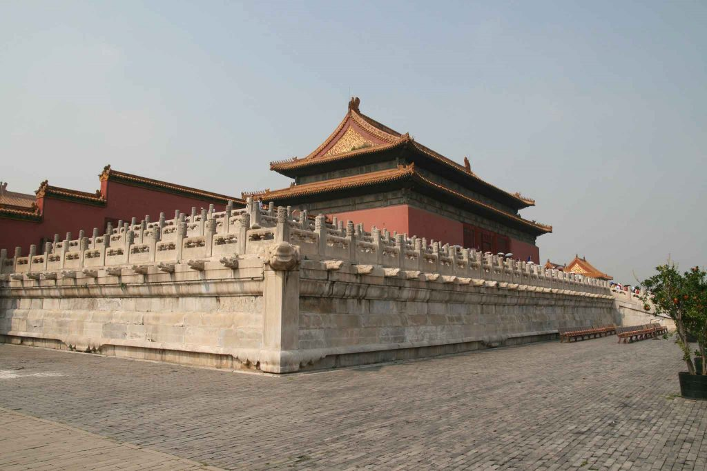 Palacio de la Armonía Conservada, Ciudad Prohibida de Pekin