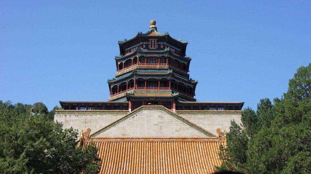 Pagoda de las Fragancias Budistas, Palacio de Verano en Pekin