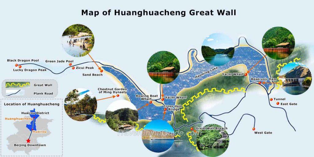 Visitar la Gran Muralla de Huanghuacheng