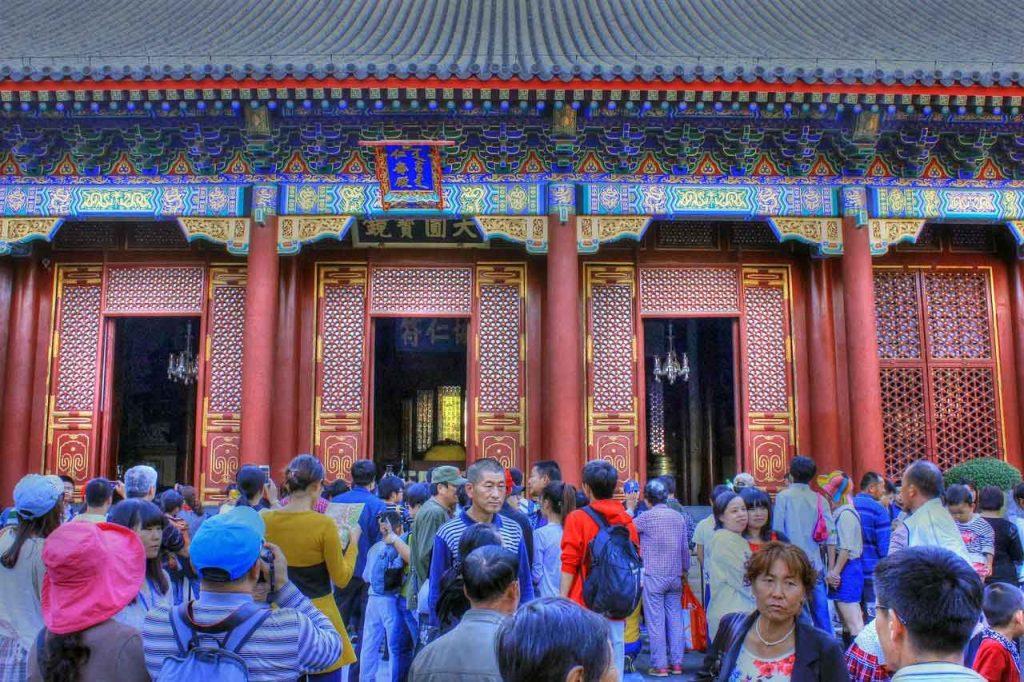 Palacio de la benevolencia y de la longevidad (Renshou Dian), Palacio de Verano de Pekin