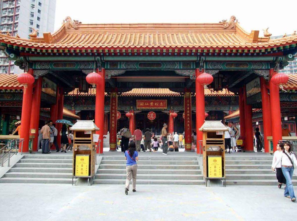 Templo de Won Tai Sin en Hong Kong