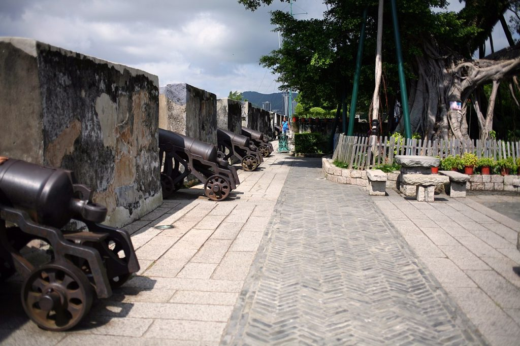 Fortaleza do Monte en Macao