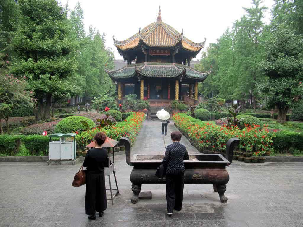 Templo Qingyang Gong en Chengdu