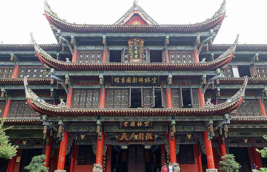 Templo Wenshu en Chengdu, qué ver y hacer