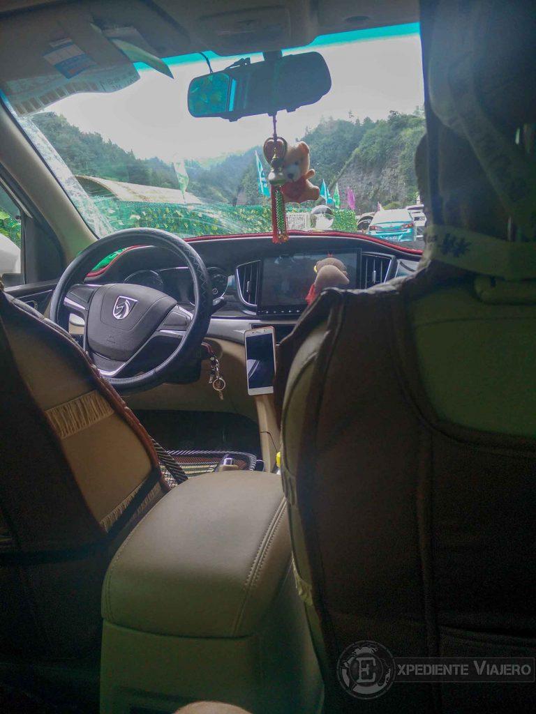 taxi wulingyuan aeropuerto zhangjiajie hehua