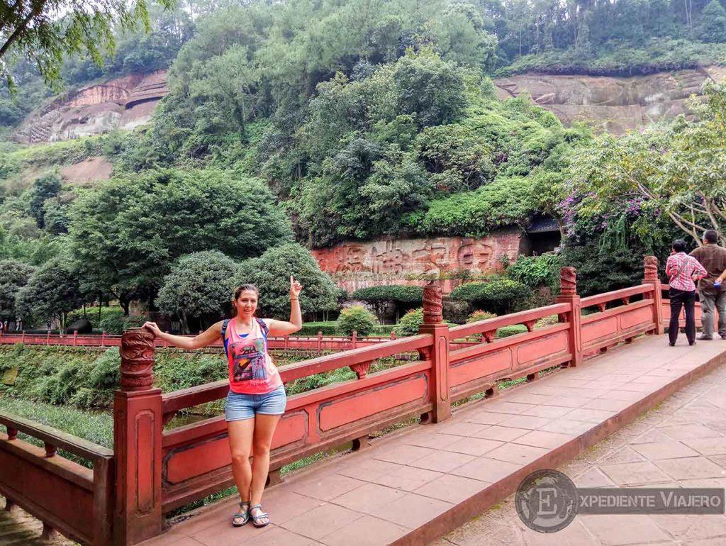 Gran Buda Reclinado en Leshan