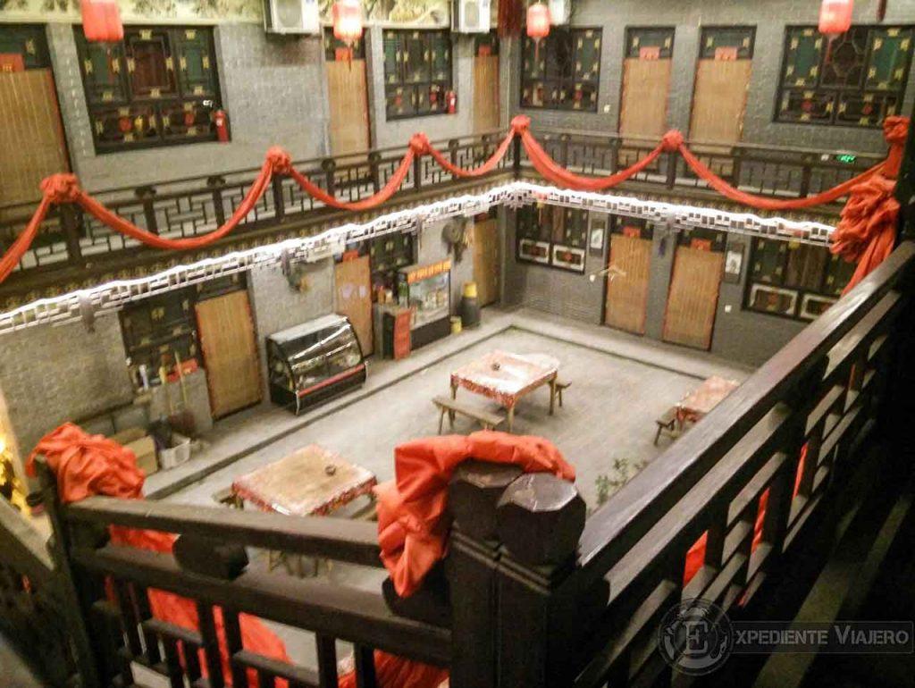 Dormir en una casa tradicional china en Pingyao