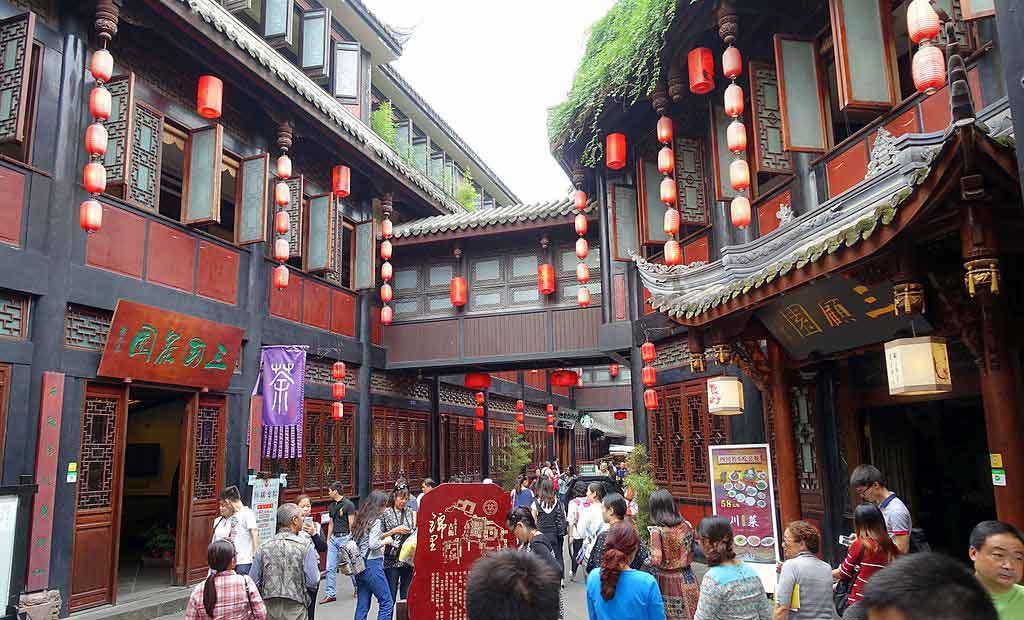 Calle Jinli en Chengdu qué ver y en cuántos días