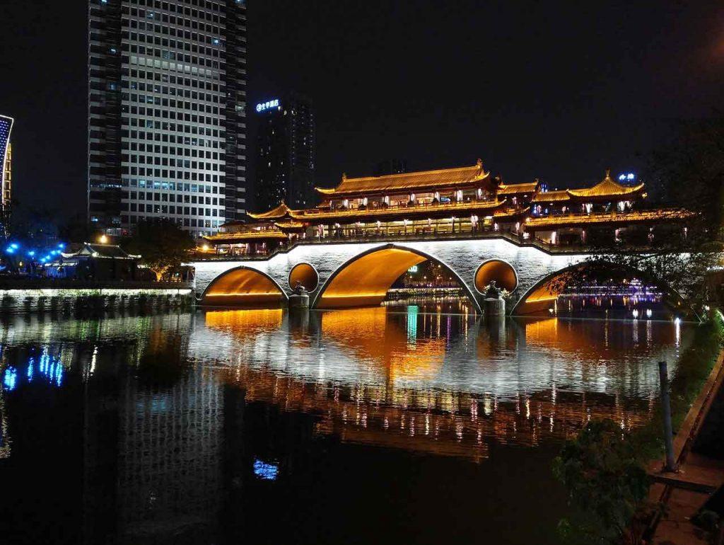 Anshun Bridge (Dongmen Bridge) en Chengdu qué ver y en cuántos días