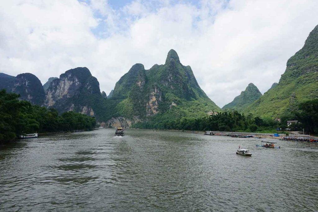 Crucero por el río Li y ver Yangshuo