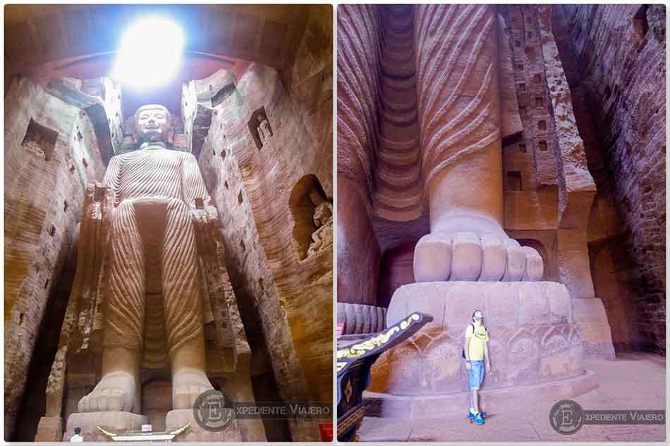 ver cueva Pharmacist Buddha Leshan