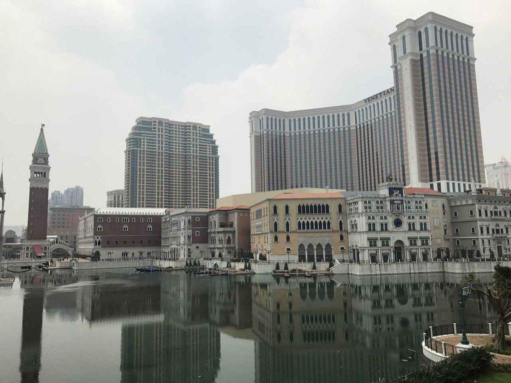Visitar el Hotel Venetian en Macao