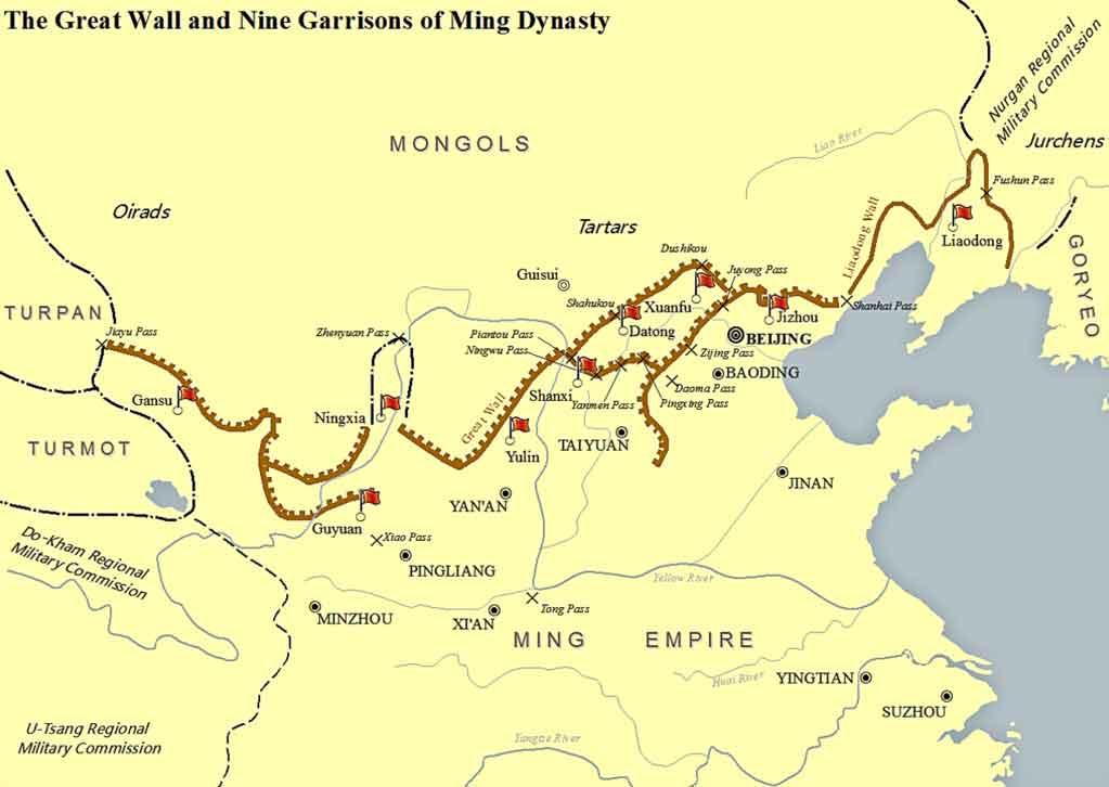 Gran Muralla de la dinastía Ming