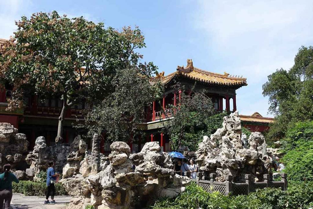 Jardines imperiales, Ciudad Prohibida de Pekin