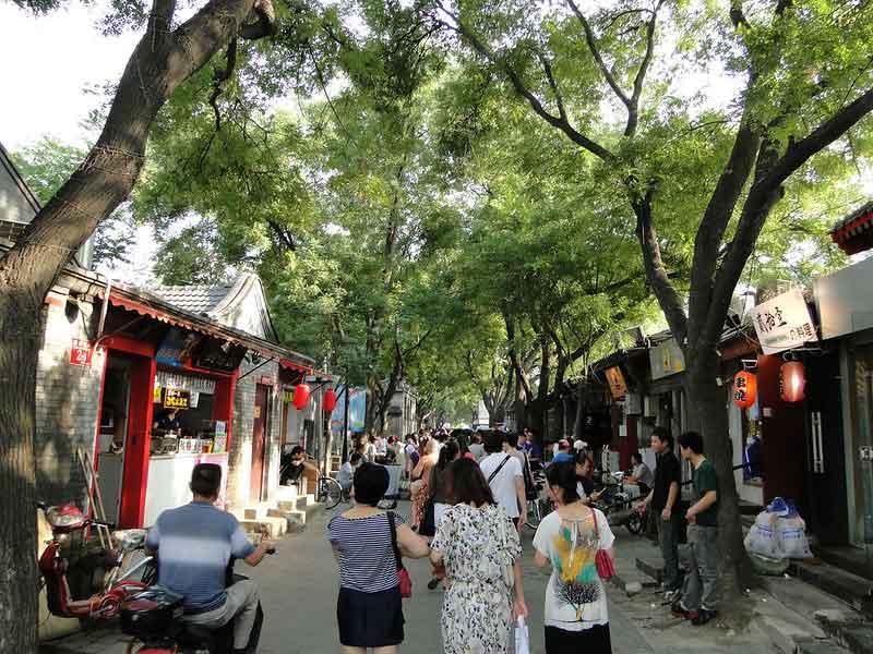 Alojarse en Houhai o Nanluoguxiang, Pekin