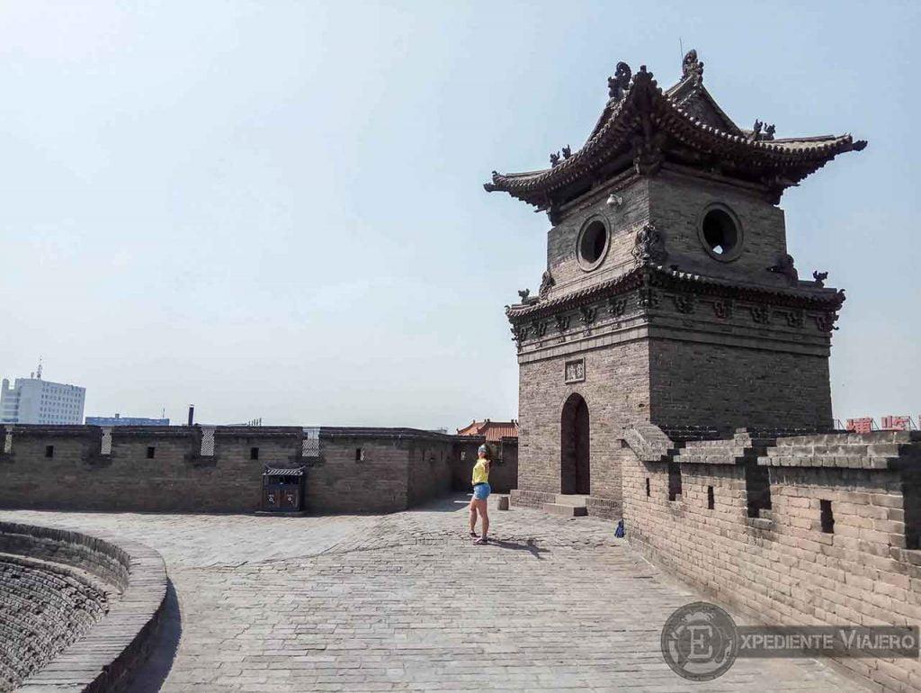Torre de la muralla de Pingyao