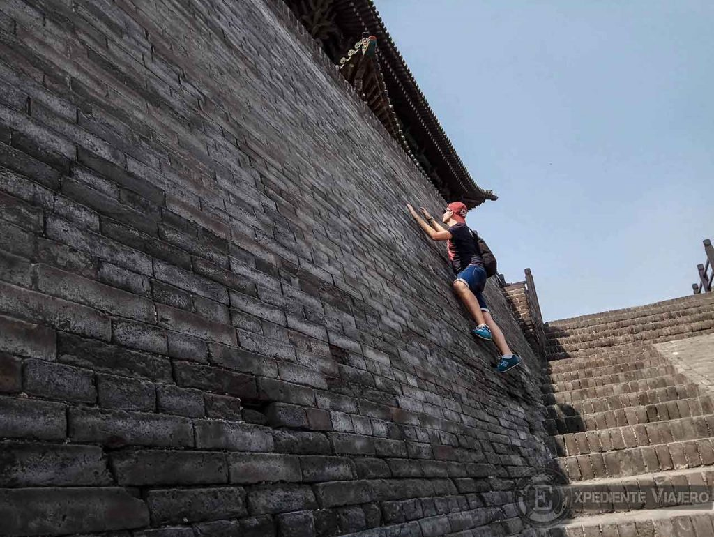 Puerta Oeste muralla de Pingyao