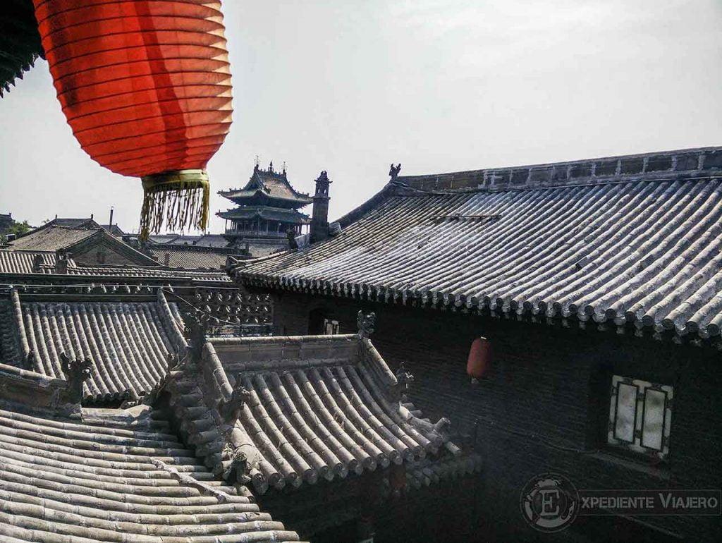 TeVistas desde Tianjixiang museum, pingyao en un día