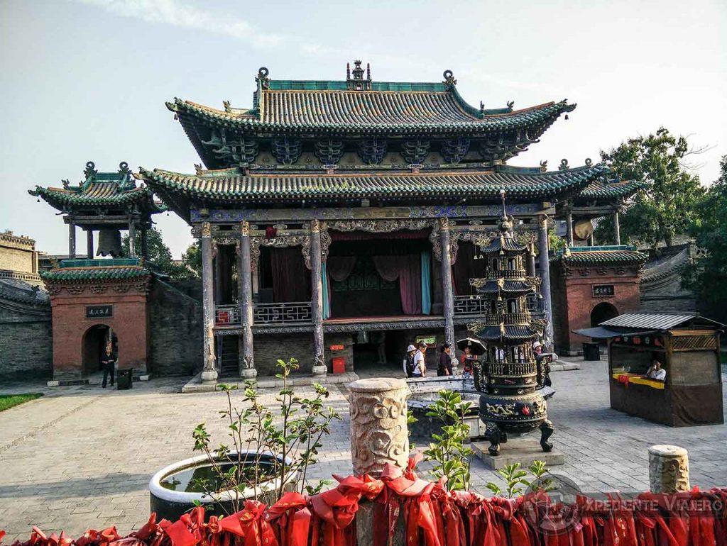Patio del Templo de Chenghuang