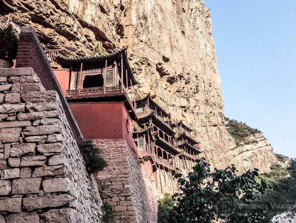 Monasterio de Hengshan en Datong
