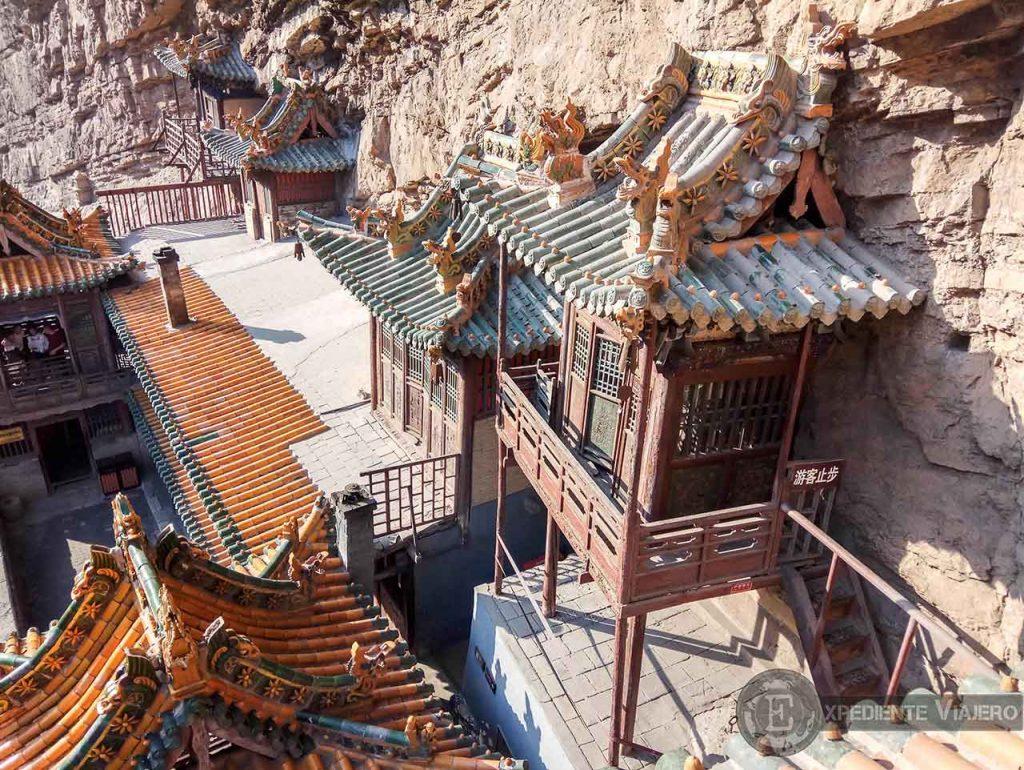 Pagodas del Monasterio Colgante en Datong