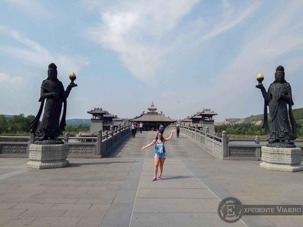 Puente del Templo Lingyan (Yungang), en Datong