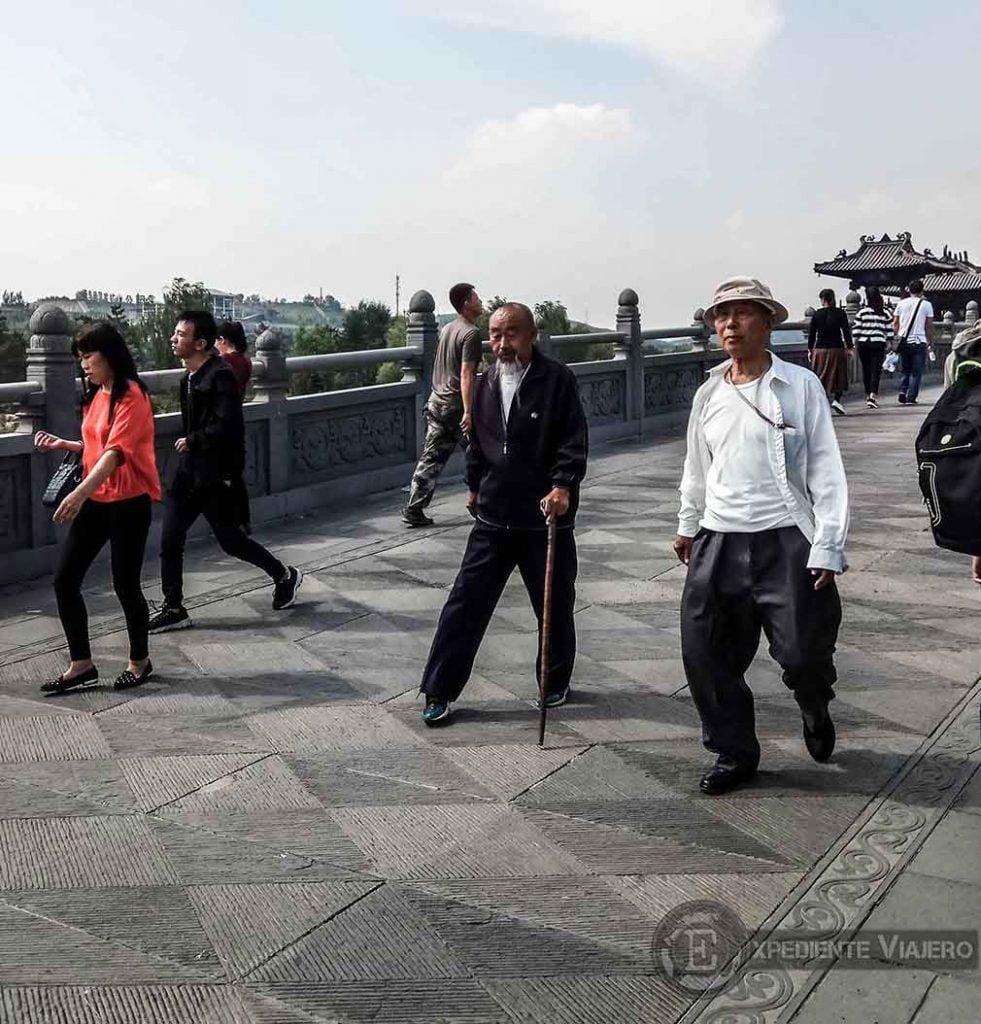 gente local china en Yungang