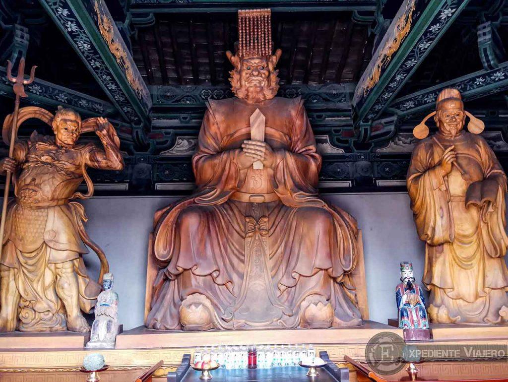 Altar del Templo del Rey Dragón (Yungang, Datong)