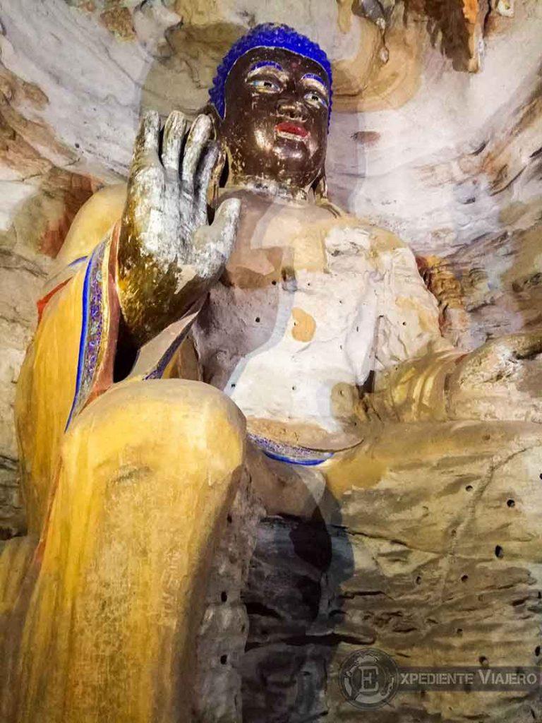 Buda gigante cueva 6 (Yungang, Datong)