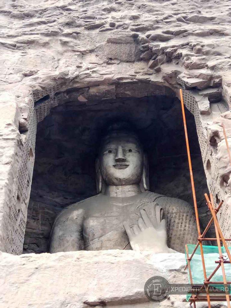 Buda del pasado en la cueva 18 (Yungang, Datong)