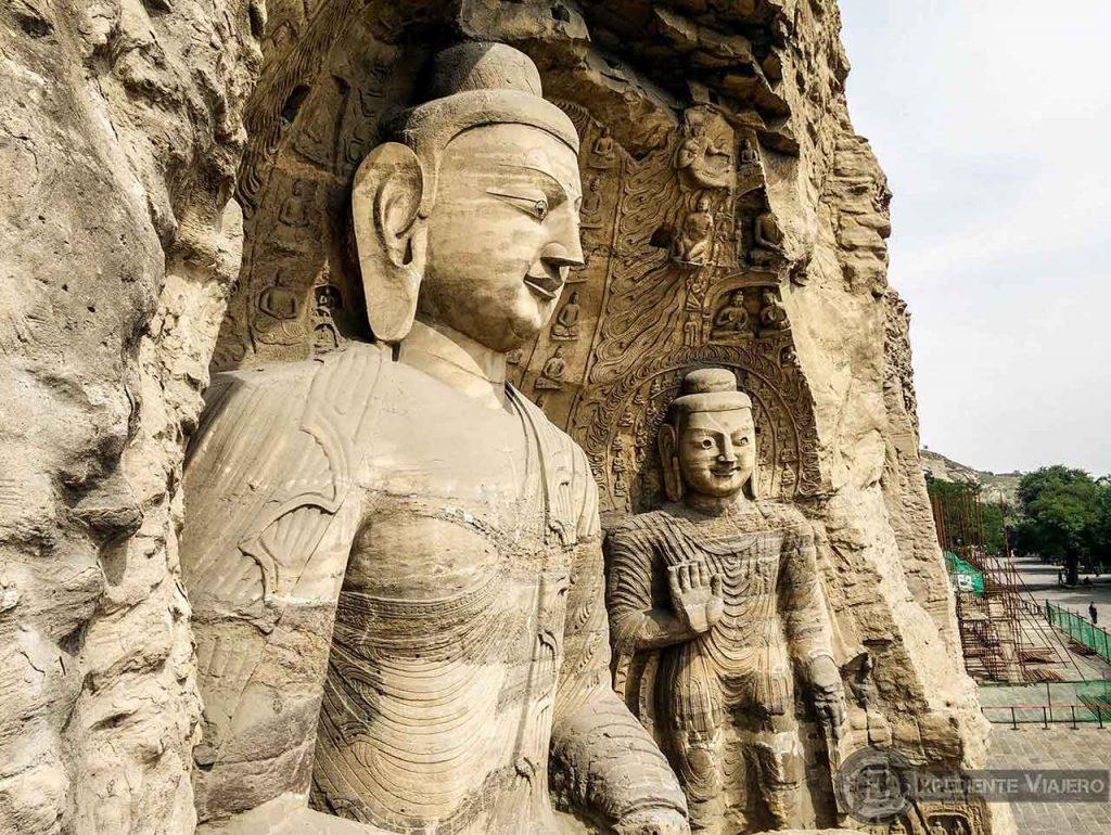 Buda más famoso de las Grutas de Yungang (Datong)