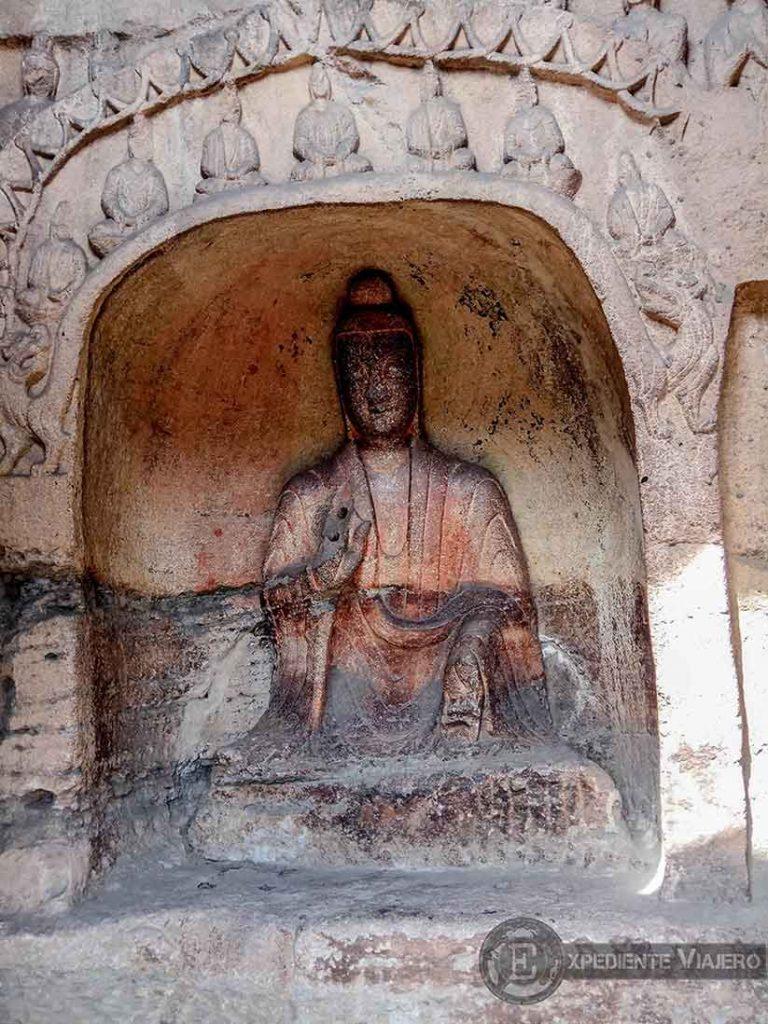 Figura de Buda de las cuevas 16 a 45 (Yungang, Datong)