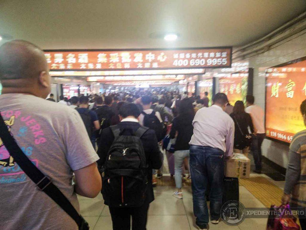Estación de trenes de Pekin